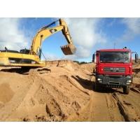 Песок (речной, карьерный, чистый) с доставкой