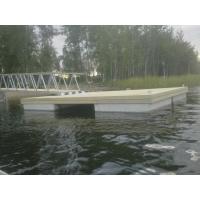 причалы пирсы понтоны на бетонных поплавках  причал пирс понтон на бетонных поплавках 15 на 2,4