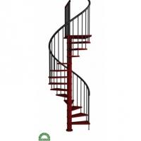 Деревянная лестница  К-026-14