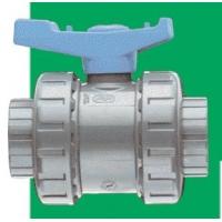 Шаровый кран ПВХ(PVC-U) FIP VE