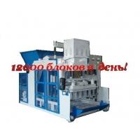 Сверхпроизводительный шлакоблочный вибропресс полуавтомат Команч K-12