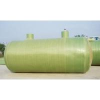 Емкость накопительная  стеклопластиковая 6м3 D-1400мм, H-4100мм