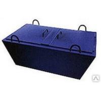 Строительные емкости Форт Металлический ящик с дверцами