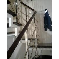 Комбинированные лестничные ограждения