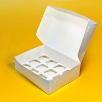 Эко упаковка для кондитеров  Упаковка для пирожных, капкейка, Cupcake