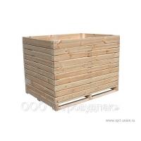 Контейнер овощной деревянный 2000*1200*1200 «Люкс»
