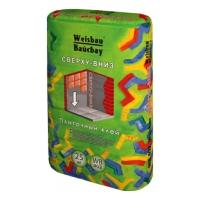 Сухие смеси WEISBAU (Вайсбау Плиточный клей  СВЕРХУ-ВНИЗ адгезия 0,6 МПа 25 кг