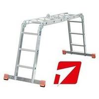 Лестница-трансформер универсальная алюминиевая
