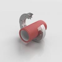 Силиконовый уплотнитель для гофрированных труб ASOKA (АСОКА) SPD/K