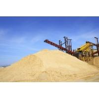 Песок карьерный намывной строительный