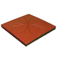 Травмобезопасная резиновая плитка «Узор» (толщина 30 мм)