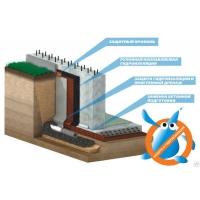 Дренажное полотно (ПВП мембраны) Isostud  Изостуд Россия