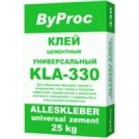 Клей для плитки универсальный ByProc KLA-330