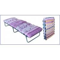 Ортопедическая раскладная кровать с ватным матрасом Ярославский завод кемпинговой мебели КТР-2ЛМ