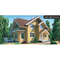 Проект деревянного дома  11-39 Вертикаль 11-39