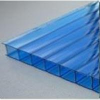 Сотовый поликарбонат  ( цвет: синий )