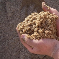 Песок карьерный, мытый