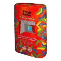 Сухие смеси WEISBAU (Вайсбау Штукатурка  гипсовая Премиум 30 кг