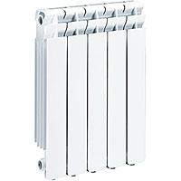 Радиатор биметаллический 8 секций Global STYLE 500 боковое подключение