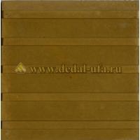 Тактильная плитка Продольные рифы (300x300x30) Дедал