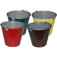 Полимерное ведро (ведро с полимерным покрытием) 9 литров, 12 лит