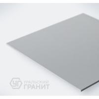 Керамогранит светло-серый моноколор UF002 Уральский гранит