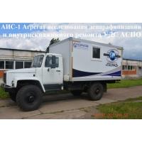 Установка для исследования скважин ЛСГ-10 ГАЗ 33081Садко Егерь