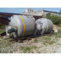 "Реактор V = 4000 л  Изготовитель ""Lampart"" Zomancipari Muvek, Budapest."
