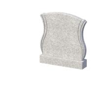 Памятник серый гранит 900*1000*70 Студия Камня