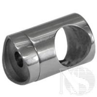 Соединение поручня со стойкой d38,1х50,8 мм (30гр.)