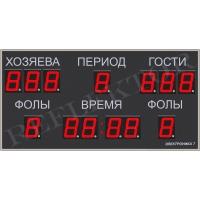 Универсальное табло для спорта Электроника7 -018