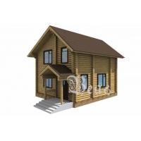 Сруб дома 6х9 - Гостевой домик