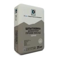 Шпатлевка цементная серая DE LUXE ТУ 5745-007-36554501-2010 25 кг