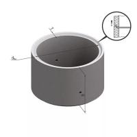 Кольцо стеновое замковое  КЗ 10-9