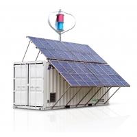 Модульная ветро-солнечная электростанция