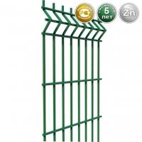 Заборные секции 3D от производителя  Стандарт 2030*2500мм, пруток 4мм ППК 6005