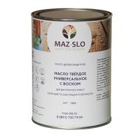 Твердое масло-воск для дерева MAZ-SLO универсальное