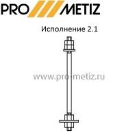 Болт фундаментный с анкерной плитой 2.1 2.2 ГОСТ 24379.1-80 ООО ПРО МЕТИЗ