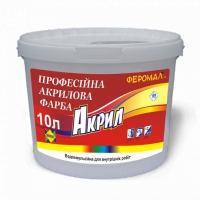Профессиональная акриловая краска FEROMAL «Акрил» 10л
