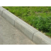 Бордюрный камень производства Завод тротуарной плитки EcoStone вибропрессованный 780х200х80 мм