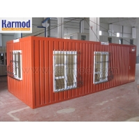Жилой домик из блок-контейнеров под ключ Кармод