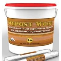 Герметик акриловый для деревянного домостроения  Wepost Wood