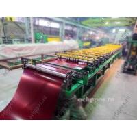 Оборудование для производства металлочерепицы типа «Монтеррей» ООО Шаталов