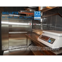 Малый грузовой лифт SKG для кухни ресторана. SKG Metallschneider GmbH Германия ISO-A