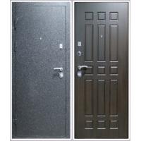 Дверь входная металлическая Заводские двери 3К Лайт Крокодил шёлк Венге
