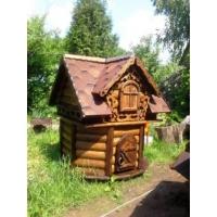 Домик для колодца, строительство колодцев, септик для дачи
