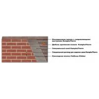 Термопанели фасадные с клинкерной плиткой Kombitherm