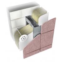 НФС из нержавеющей стали для вент фасада Ньютон Системс для фиброцементных плит