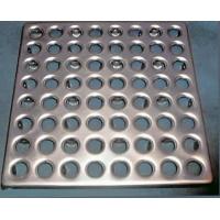 Металлический топпинг - плитка для промышленных полов  Плитка пола