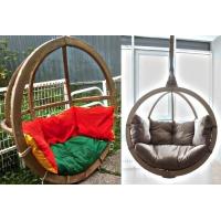 Оригинальные и комфортабельные подвесные кресла для двоих